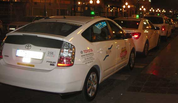 Cinco años de cárcel para el secuestrador de la taxista en Alicante