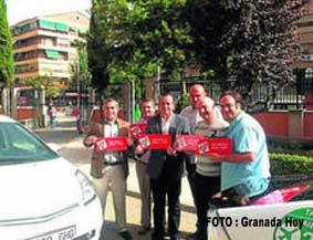 Los taxistas granadinos, con la donación de órganos
