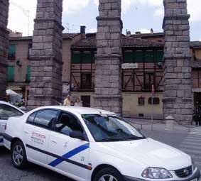 Los taxis de Segovia podrán operar en el alfoz durante las fiestas