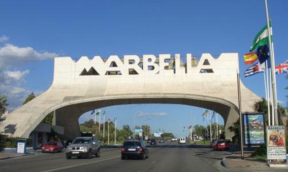 Los taxistas de Marbella, voluntarios en el incendio