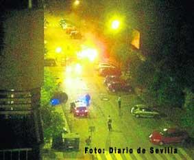 Incendiados dos taxis en Sevilla
