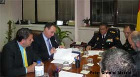 Acuerdo con la Policía para mejorar la seguridad