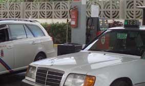 Los taxis de Telde e Ingenio protestan contra el Cabildo