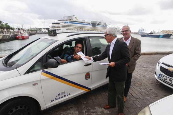 Rutas en taxi para los cruceristas en Las Palmas