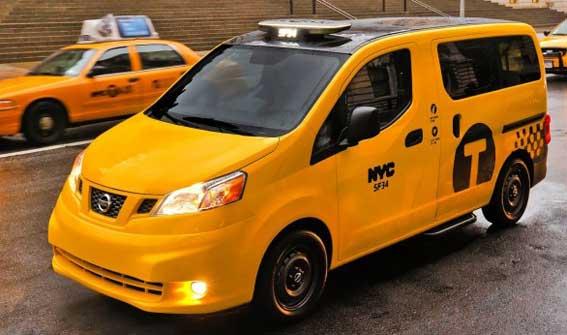 Nissan NV200, de Nueva York a Barcelona