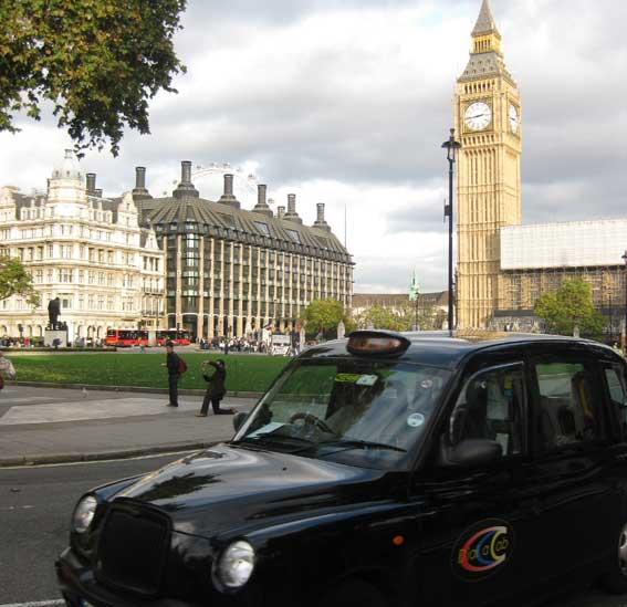 Publicidad a cambio de Wi-Fi en los taxis londinenses