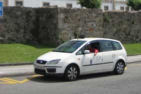 La Ley del Taxi gallega retomará su tramitación parlamentaria