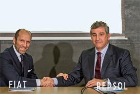 Alianza de Repsol y Fiat para impulsar el autogas