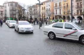 Los ciudadanos apoyan el regreso de los taxis a la Plaza Mayor de Plasencia