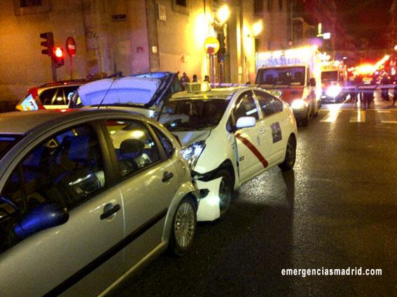 Libertad con cargos para el taxista del atropello múltiple