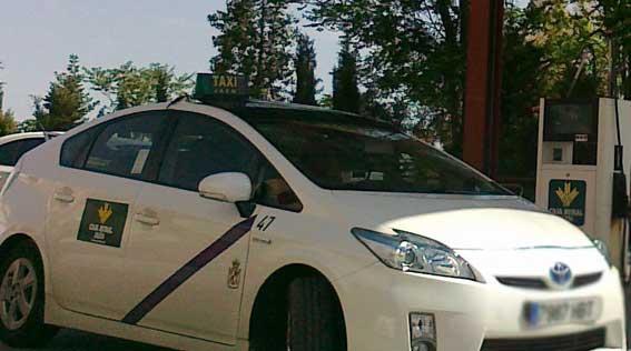 El taxi de Jaén se desploma por la crisis