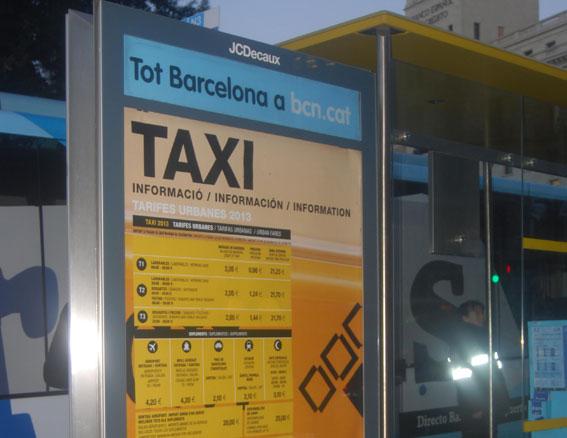 Nuevos puntos de información sobre tarifas