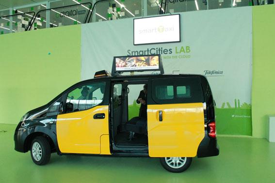 El taxi inteligente aterriza en Barcelona