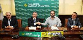 Convenio entre Caja Rural Castilla-La Mancha y Radiotaxi Talavera
