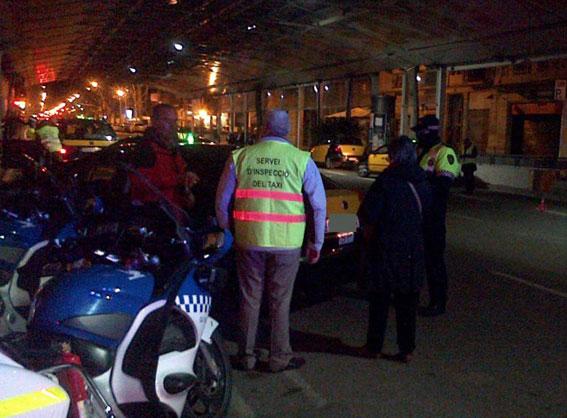 Inspecciones nocturnas en Barcelona contra el intrusismo
