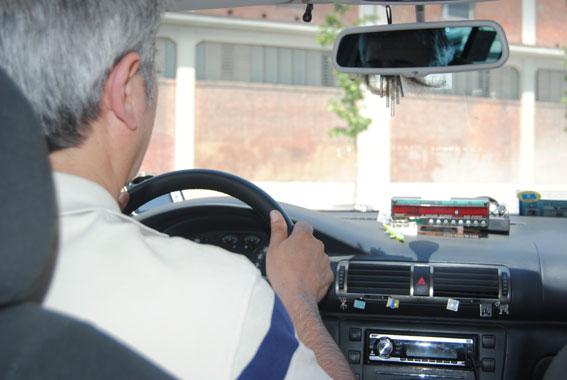 ¿Cinturón obligatorio para el taxista?