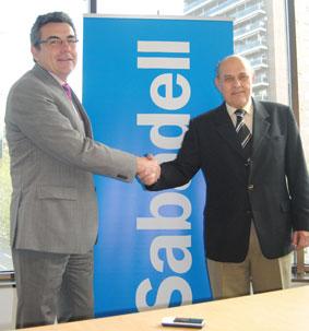 Acuerdo financiero entre AMT y Sabadell