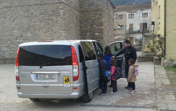 Las 7 y 9 plazas, fundamentales para un transporte escolar eficaz