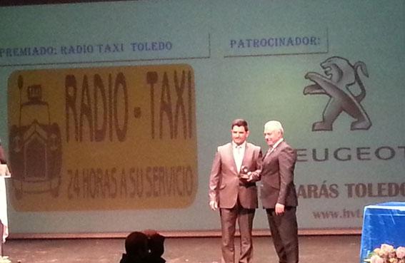 Premio a la profesionalidad y calidad de Radiotaxi Toledo