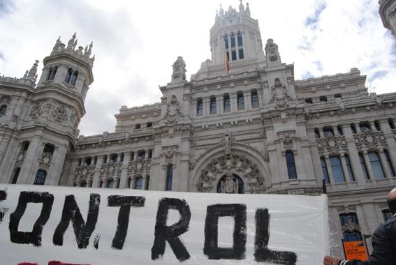 Nueva concentración frente al Ayuntamiento de Madrid el 19J