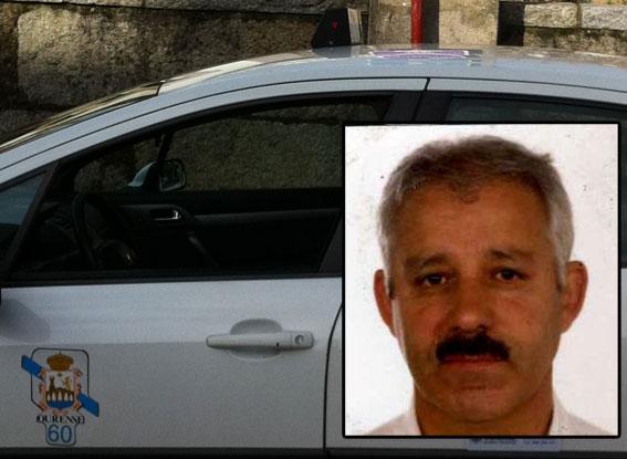 Se busca a un taxista de Ourense desaparecido desde hace un mes