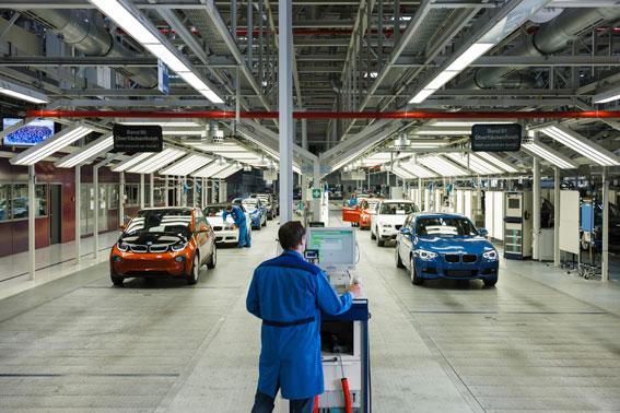 Comienza la producción del primer eléctrico de BMW