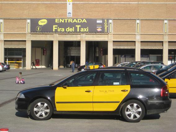 Apoyo de Fomento a la Feria del Taxi 2013