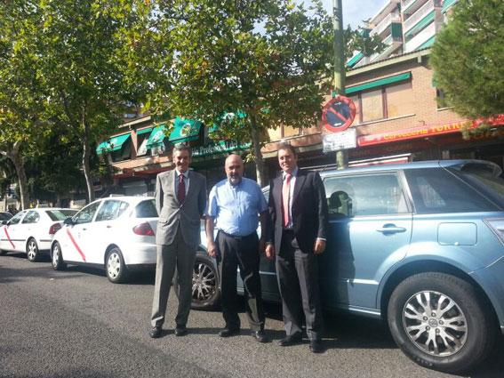 FPT Madrid apuesta por el taxi 100% eléctrico