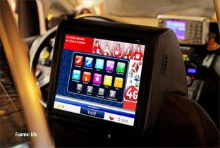 Los taxis chilenos se suman a las últimas  tecnologías