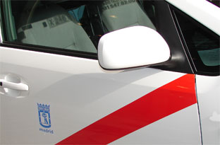Las restricciones de movilidad en Madrid no afectan al taxi