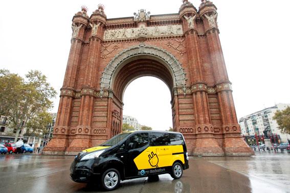 El taxi eléctrico, presente en Expoeléctric