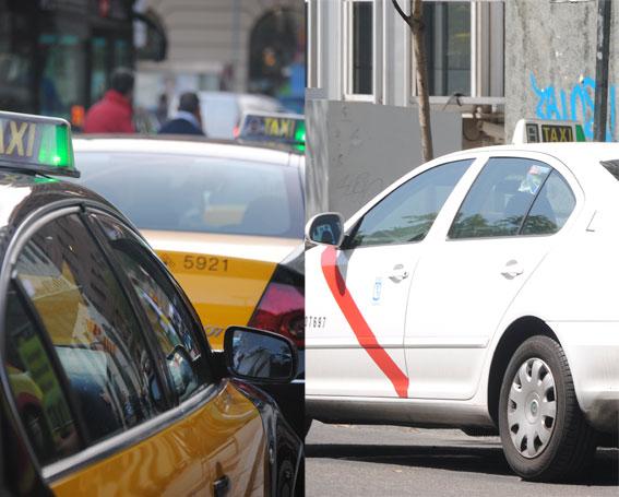 Los taxistas de Barcelona reciben más propinas que los madrileños