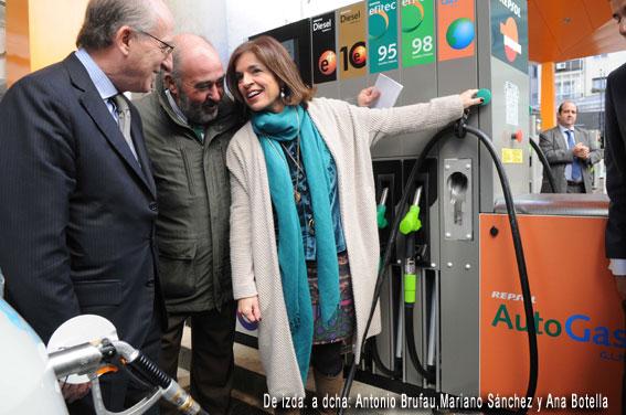 Nuevo punto de suministro GLP en Madrid