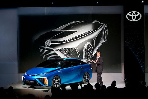 En 2015 los coches se moverán con hidrógeno