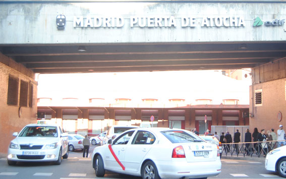 """""""Los taxistas no van a pagar por miccionar en Atocha"""""""