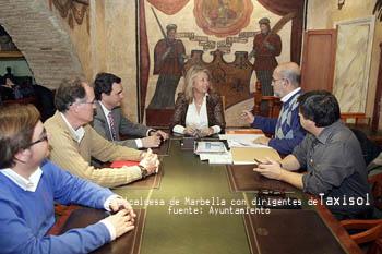 Marbella no desea huelga y propone la mediación de la FAMP