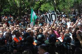 No todas las manifestaciones
