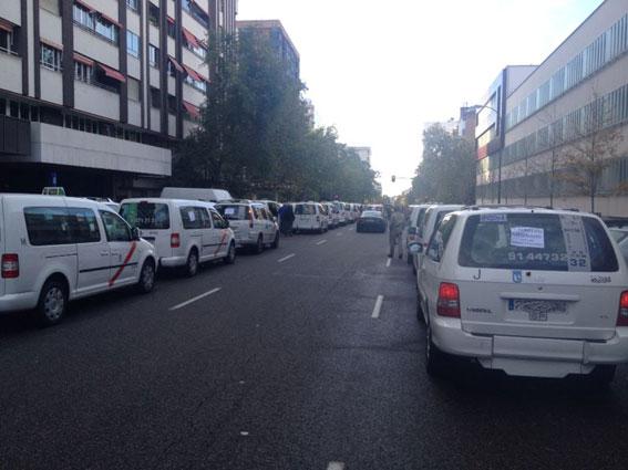 Admitida a trámite la denuncia de FAMMA por la huelga del eurotaxi