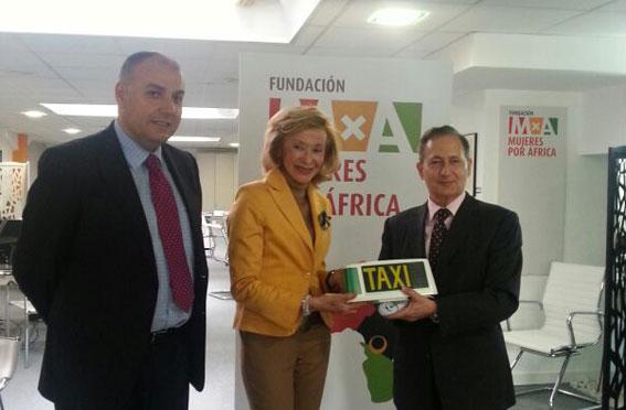 Fundación Mujeres por África, Gremial y Taxitronic con