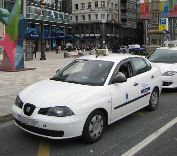 60.000 euros para mejorar el taxi en A Coruña