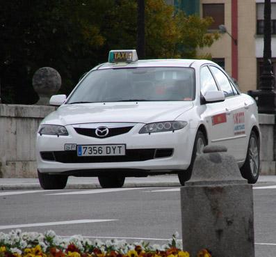 Taxis sostenibles por sorpresa