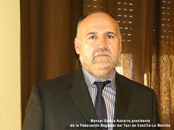 García Naharro, reelegido presidente de los taxistas de Castilla-La Mancha