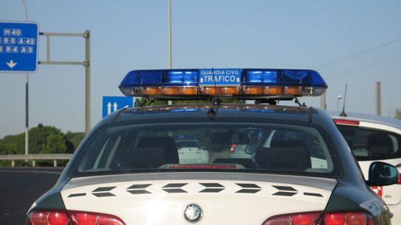 La Guardia Civil imputa dos delitos al taxista kamikaze