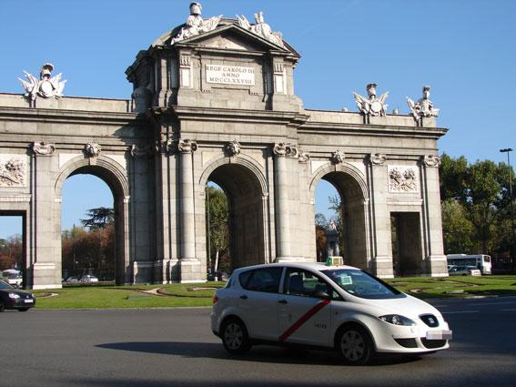 Cursos de historia y patrimonio cultural para taxistas de Madrid