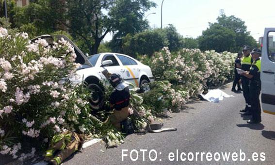 Fallece un taxista de un infarto mientras conducía