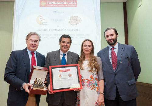 """La campaña """"La carretera te pide SIN"""", premio Fundación CEA"""