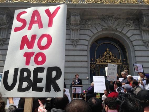 "Movimiento ""europeo"" contra Uber"