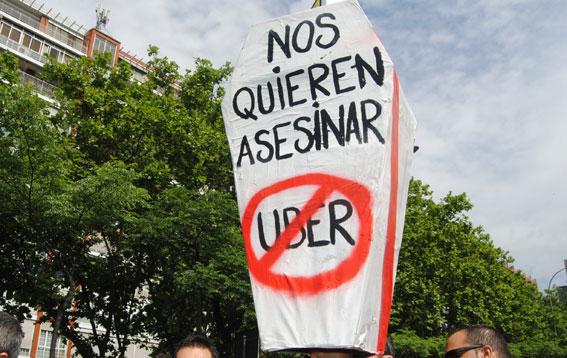 El taxi europeo se movilizará unido contra los ilegales