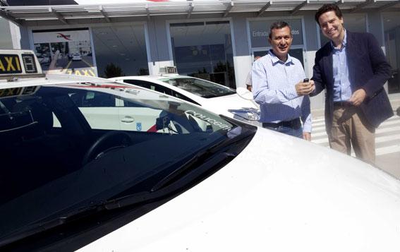 Madrid tiene ya 236 nuevos taxis 'limpios'