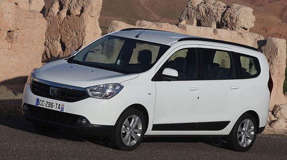El Dacia Lodgy, nuevo taxi para Madrid